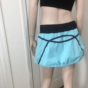 Lululemon Aquamarine Run: Tracker Skirt 8